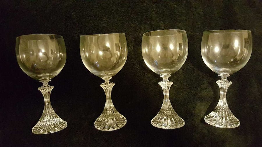 Mikasa The Ritz TS400/001 4 pc Goblet Set 41e18126-9be7-4ed4-8faf-377bd146dbd2