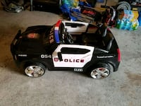 Dodge Charger police car kid trax