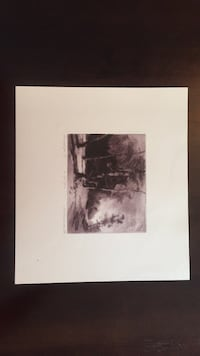 Litho signed by artist Howell