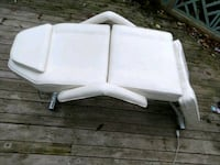 white leather dentist, massage, or tattoo chair Kenmore, 98028