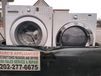 Washer and dryer works good Free delivery 30 day warranty Washington, 20003