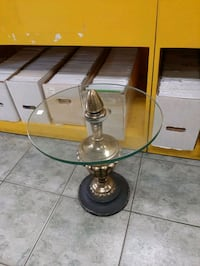 Glass Table $60