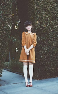 women's brown long-sleeved dress Rancho Viejo, 78575