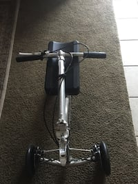 Black and gray bicycle frame Garden Grove, 92843