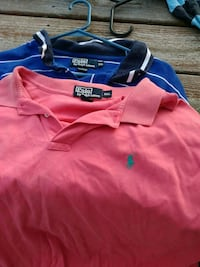 blue and red Polo Ralph Lauren polo shirts Unionville, 37180