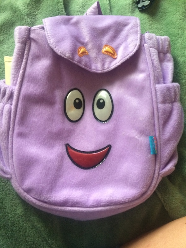 Used Dora backpack with map for sale in Roseville - letgo Dora Backpack With Map on