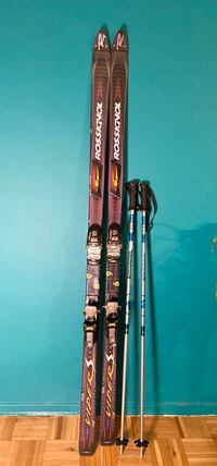 Rossingol Mountain Viper + Rossingol Poles with boots