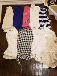 Girls size 14-16 tops