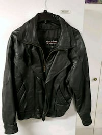 black leather zip-up jacket Allentown, 18104
