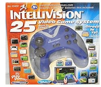 Intellevision plug and play 25 games in one controller 385 mi