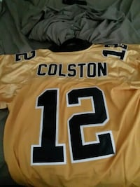 yellow and black NFL jersey New Orleans, 70127