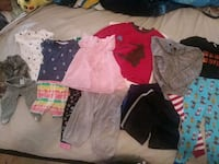 Lots and lots baby clothes!! Toddlers too!