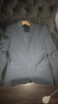 gray notch lapel suit jacket Innisfil, L0L
