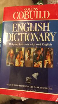 English Dictionary Collins Cobuild Clarksburg, 20871