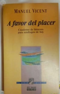 LIBRO: A FAVOR DEL PLACER. MANUEL VICENT Gijón