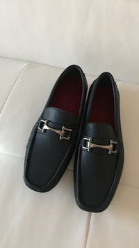 Pair of navy blue loafers  Ajax, L1T 3P4