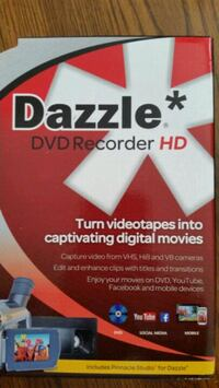 Dazzle Dvd Recorder with Pinnacle software Vacaville, 95687