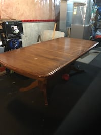 Wooden table and 4 chairs  540 km
