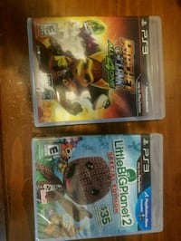 two assorted PS3 game cases Ulster Park, 12487