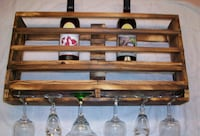 Handcrafted Wood Wine Rack Charlotte, 28273