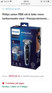 Philips barber maskin