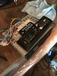 Remote car radio... purchased in April still under 2 year service plan and warranty  Knoxville, 37918