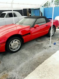 red and black convertible coupe Hollywood