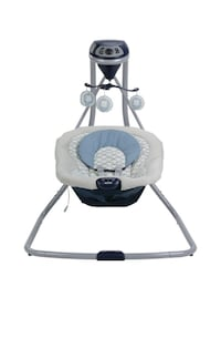 Baby's white and gray cradle n swing Stamford, 06905