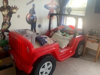 Little tikes Jeep bed Ashburn, 20148
