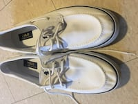 Pair of white Polo boat shoes size 12 men's Thousand Oaks, 91360