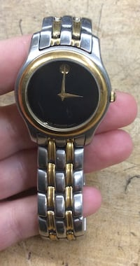 Movado stainless steel watch pre owned 761768-1 Baltimore, 21205