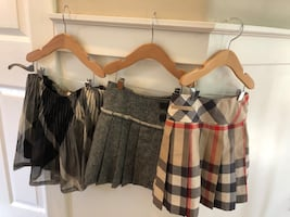 Girls Burberry Skirts