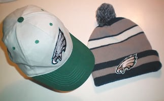 Eagles NFL Cap and Knit Toque Set
