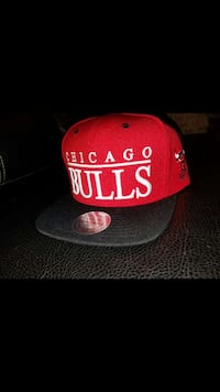 red and black chicago embroidered snapback cap San Antonio, 78237