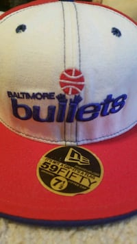 Baltimore Bullets new era fitted cap hat  7 1/2 College Park, 30349