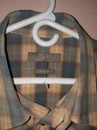 gray and black plaid button-up shirt Miami, 33155