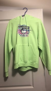 Green and black pullover hoodie Waterloo, N2J 2E6