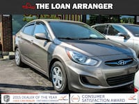 2012 hyundai accent with  75,357km and 100% approved financing Toronto