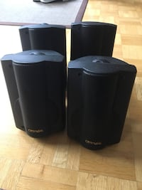 4 omage speakers 30 watts RMS Toronto, M4N 1Z3