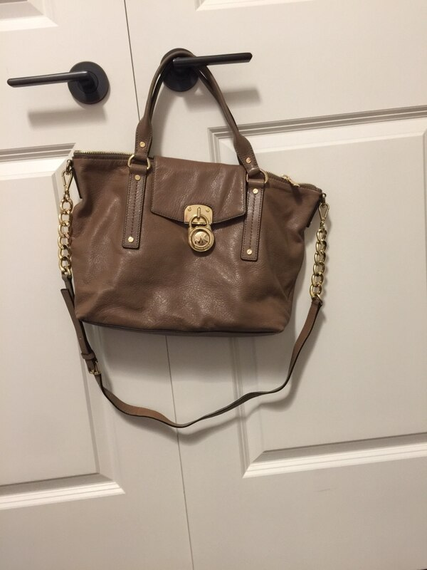 a6c9bb5d9c58b2 Used Michael Kors taupe purse for sale in Toronto - letgo