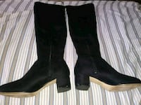 Black 'Jamie' heeled over-the-knee boots size 9 m  Camden County, 08012