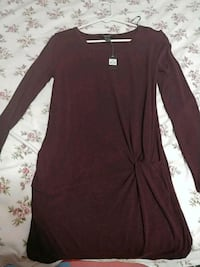 Size s burgandy dress Brampton, L6S 2C3