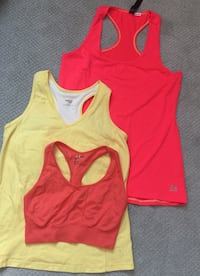 toddler's red and yellow tank top and pants Dorval, H9P 2A7