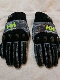 H/H work/ wear carbon fiber hard knuckle gloves Mission, V2V 3T3