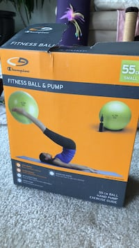 Fitness Pilates Ball & Pump Oakton, 22030
