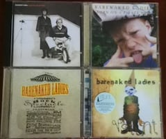 Barenaked Ladies CDs - 4 1990's albums