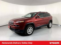 2015 *Jeep* *Cherokee* Latitude hatchback Deep Cherry Red Crystal Los Angeles