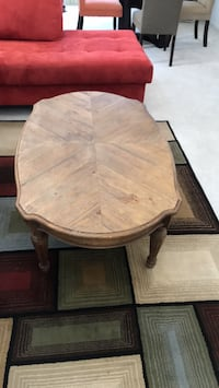 Wood coffee table null
