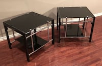 2 Tempered Glass End Tables Trenton, 08610