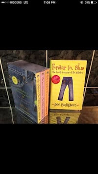 Brand new-4 books of the sisterhood of the traveling pants